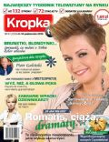 Daria Widawska on the cover of Kropka TV (Poland) - October 2010