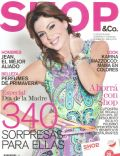 Karina Mazzocco on the cover of Shop (Argentina) - October 2011
