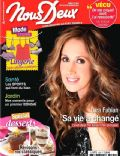 Lara Fabian on the cover of Nous Deux (France) - February 2013