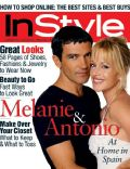 Melanie Griffith on the cover of Instyle (United States) - November 1999