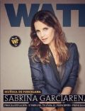 Sabrina Garciarena on the cover of Watt (Argentina) - April 2013