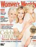 Sarah Murdoch on the cover of Womens Weekly (Australia) - May 2013