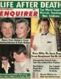 Joan Collins on the cover of National Enquirer (United States) - March 1987