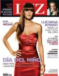 Gastón Pauls, Luciana Aymar on the cover of Luz (Argentina) - August 2008