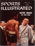 Carmen Basilio on the cover of Sports Illustrated (United States) - February 1957