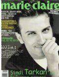 Tarkan on the cover of Marie Claire (Turkey) - August 1996