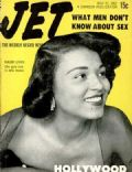 Mauri Lynn on the cover of Jet Magazine (United States) - May 1952