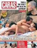 Agustina Cherri, Agustina Cherri and Gaston Pauls, Gastón Pauls on the cover of Caras (Argentina) - February 2009