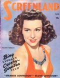 Paulette Goddard on the cover of Screenland (United States) - June 1944