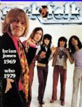 Bill Wyman, Brian Jones, Charlie Watts, Keith Richards, Mick Jagger on the cover of Rock and Folk (France) - July 1979