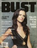Juliette Lewis on the cover of Bust (United States) - September 2003