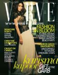 Karisma Kapoor on the cover of Verve (India) - May 2012