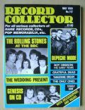 Bill Wyman, Brian Jones, Charlie Watts, Keith Richards, Mick Jagger on the cover of Record Collector (United Kingdom) - May 1989