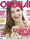 Sabrina Garciarena on the cover of Ohlala (Argentina) - January 2012