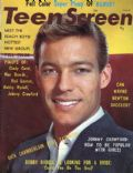 Richard Chamberlain on the cover of Teen Screen (United States) - February 1964