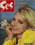 Filiz Akin on the cover of Ses (Turkey) - October 1967