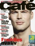 Fredrik Ljungberg on the cover of Cafe (Sweden) - January 2010