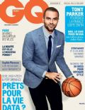 Tony Parker on the cover of Gq (France) - May 2014