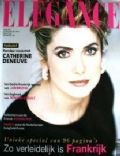 Catherine Deneuve on the cover of Elegance (Netherlands) - June 1993