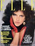 Clio Goldsmith on the cover of Elle (France) - September 1981