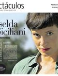 Griselda Siciliani on the cover of La Nacion (Argentina) - April 2012
