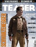 Arnold Schwarzenegger on the cover of Cinema Teaser (France) - February 2013