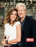 Richard Gere and Alejandra Silva Friedland