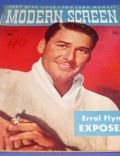Errol Flynn on the cover of Modern Screen (United States) - November 1943