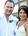 Melissa Bring and Dave Coulier