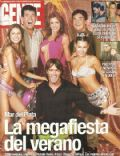 Carolina Ardohain, Karina Mazzocco on the cover of Gente (Argentina) - February 2001