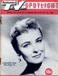 Fairbanks T V Spotlight Magazine [United States] (9 August 1958)