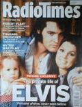 Elvis Presley, Priscilla Presley on the cover of Radio Times (United Kingdom) - May 2005