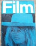 Brigitte Bardot on the cover of Film (United Kingdom) - June 1962