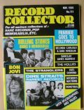 Bill Wyman, Brian Jones, Charlie Watts, Keith Richards on the cover of Record Collector (United Kingdom) - November 1988