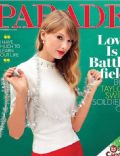 Taylor Swift on the cover of Parade (United Kingdom) - November 2012