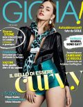Paula Magyar on the cover of Gioia (Italy) - April 2014