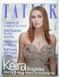 Keira Knightley on the cover of Tatler (United Kingdom) - July 2003