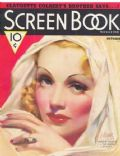 Marlene Dietrich on the cover of Screen Book (United States) - October 1936