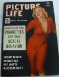 Marilyn Monroe on the cover of Picture Life (United States) - April 1954