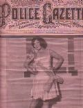 Ann Pennington on the cover of Police Gazette (United States) - September 1927