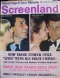 Eddie Fisher on the cover of Screenland (United States) - February 1967