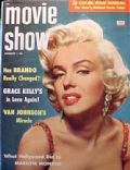 Marilyn Monroe on the cover of Movie Show (United States) - November 1955