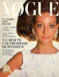 Marisa Berenson on the cover of Vogue (France) - December 1967