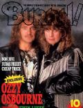 Burrn! Magazine [Japan] (October 1988)