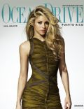 Shakira on the cover of Ocean Drive (Puerto Rico) - June 2010