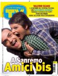 Alessandra Amoroso, Valerio Scanu on the cover of TV Sorrisi E Canzoni (Italy) - February 2010