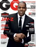 Jay-Z on the cover of Gq (South Africa) - March 2012