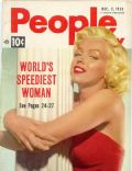 Marilyn Monroe on the cover of People Today (United States) - December 1953