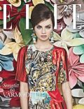 Moa Aberg on the cover of Elle (Sweden) - February 2013