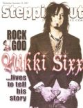 Nikki Sixx on the cover of Steppin Out (United States) - September 2007